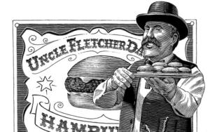 The First Hamburger