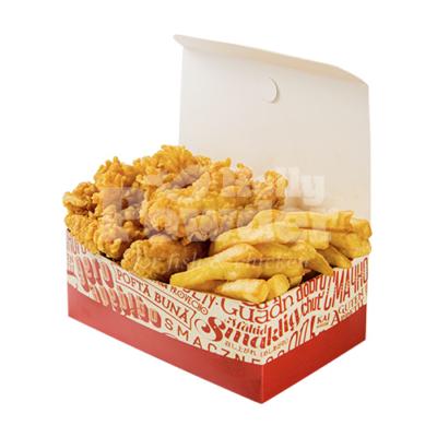box z kurczakiem w panierce jak w kfc