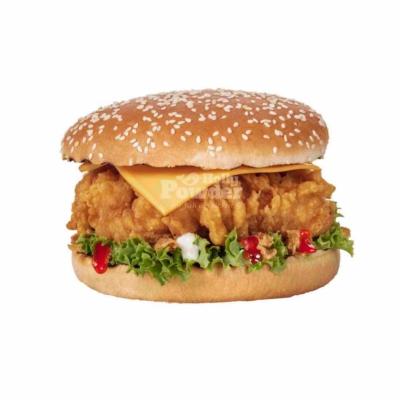 chicken burger zdjęcia jak kfc