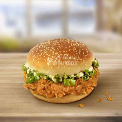 kanapka z kurczakiem w panierce