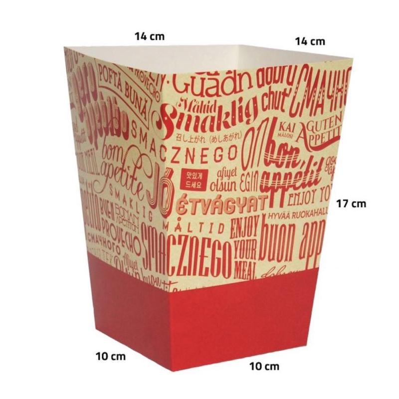 opakowanie gastronomiczne - kubełek mały