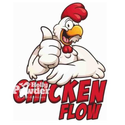 logo do lokalu z chrupiącym kurczakiem