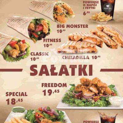 menu nad bar