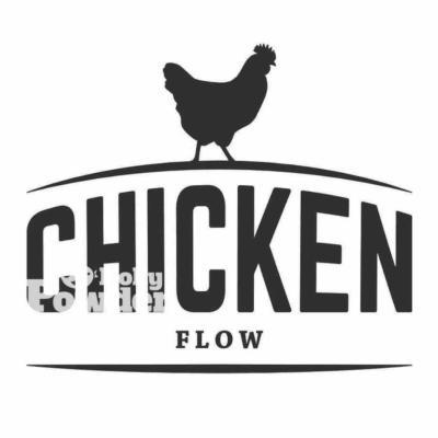 modne logo z kurczakiem