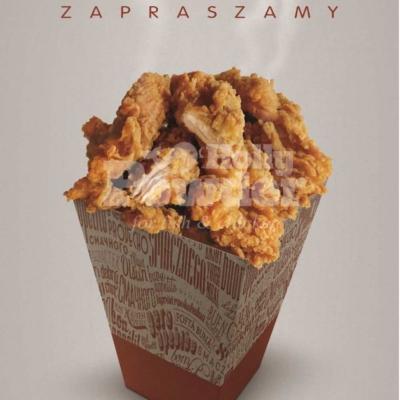 plakat z kurczakiem po amerykańsku