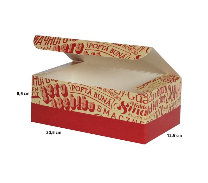pudełko na kurczaka
