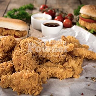 wrapy z kurczakiem a'la kfc
