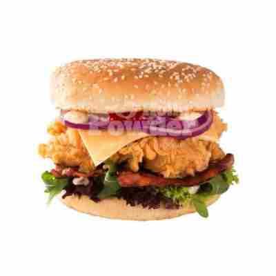 kanapka z panierowanym kurczakiem
